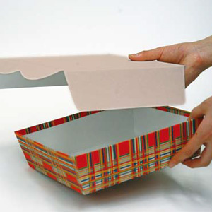 紙加工品による「エコパッケージ」