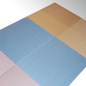 天然素材とバイオマスを活用した「シルク軽量未来畳」