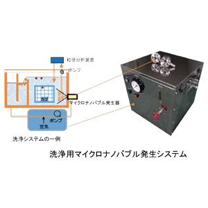 洗浄用マイクロナノバブル発生システムTFBS-1